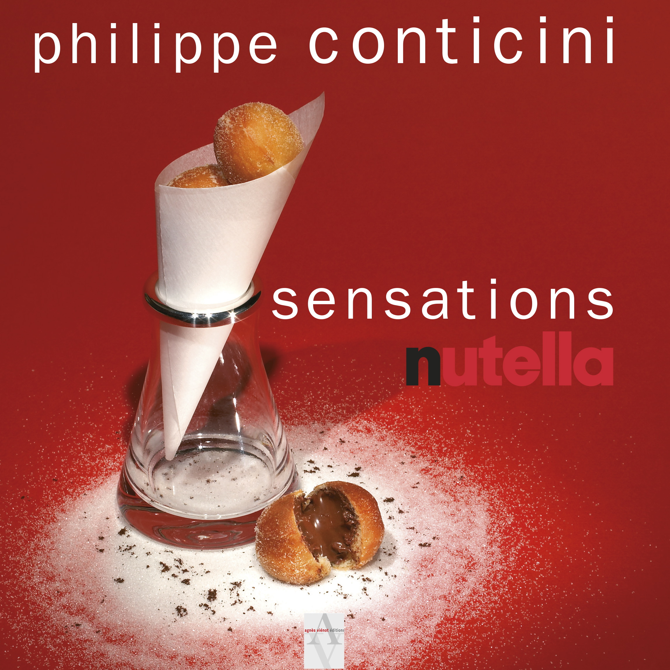 Nutella Sensations recipe book cover