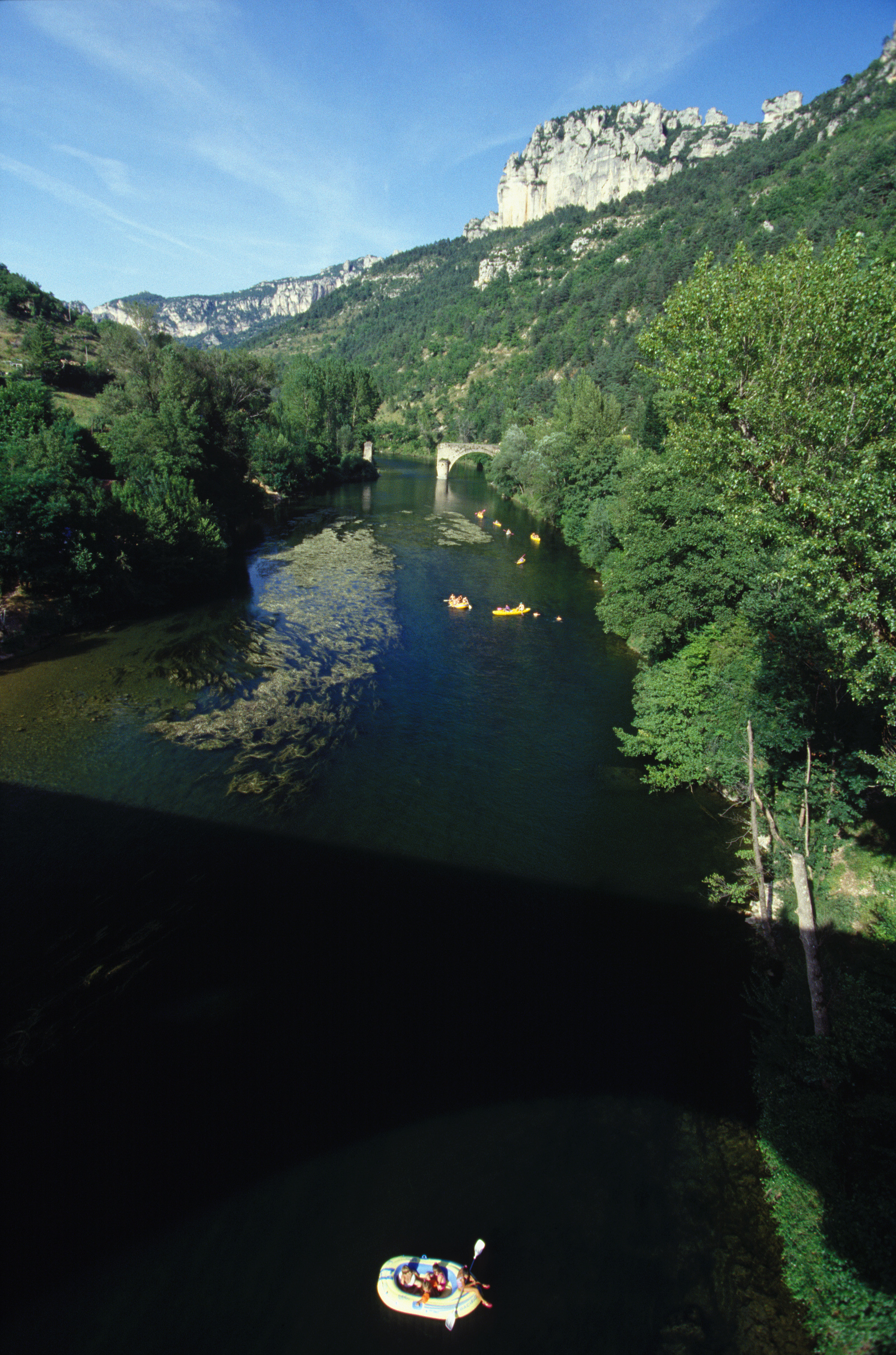 Tarn river bridge south France