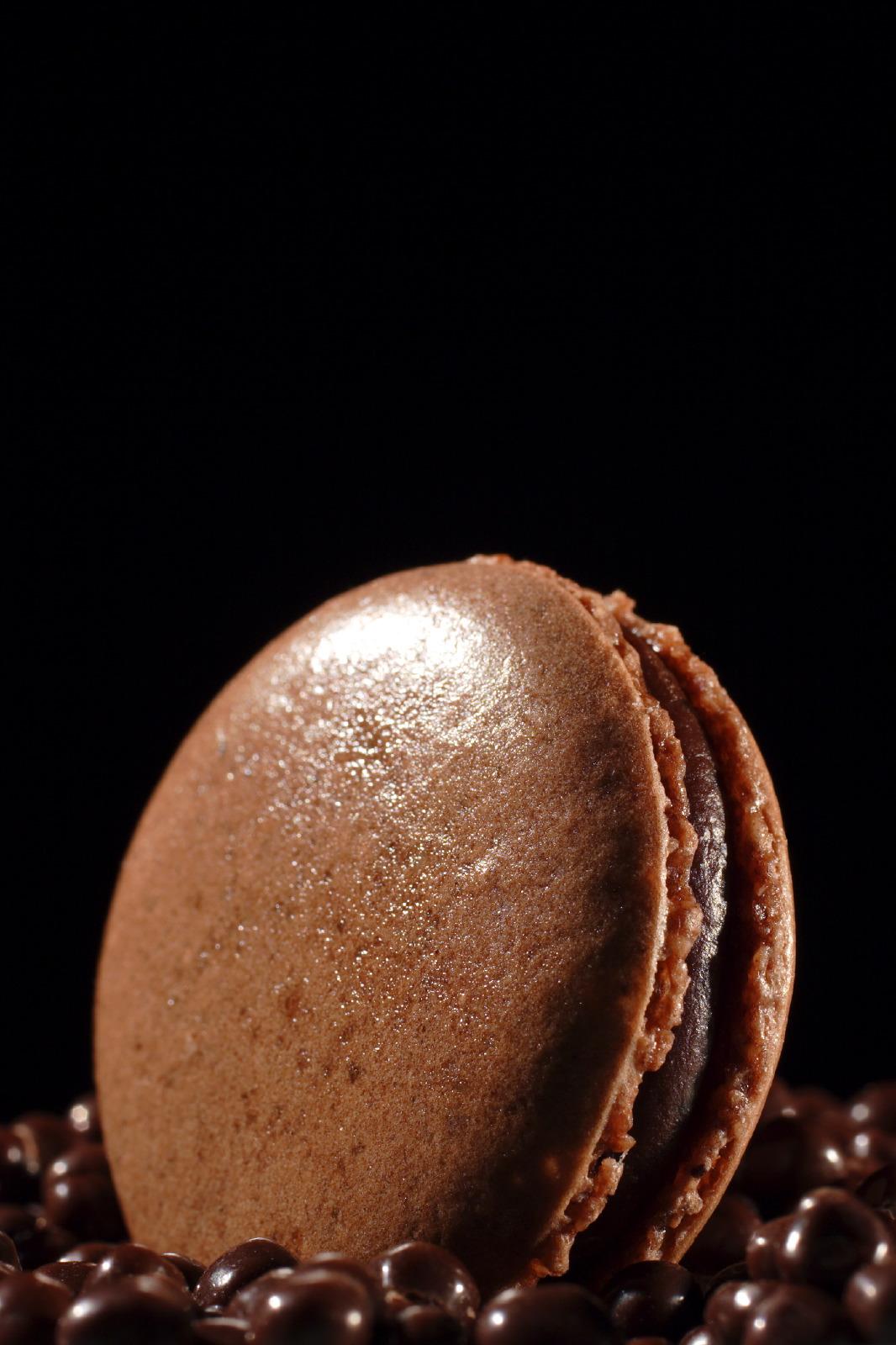 Chocolate macaroon Pascal Guerreau & Philippe Conticini